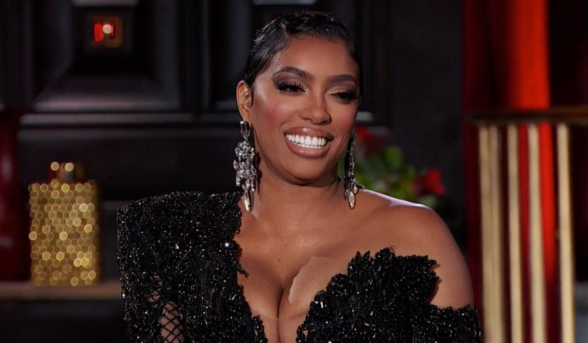 Porsha Williams is happy with her decision to accept Simon's proposal just one month after he filed for divorce