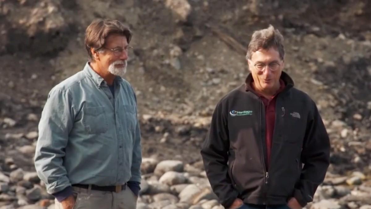 Rick and Marty Lagina on Oak Island
