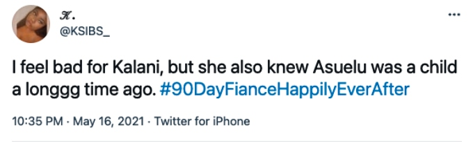 90 Day Fiance fans are frustrated with Kalani
