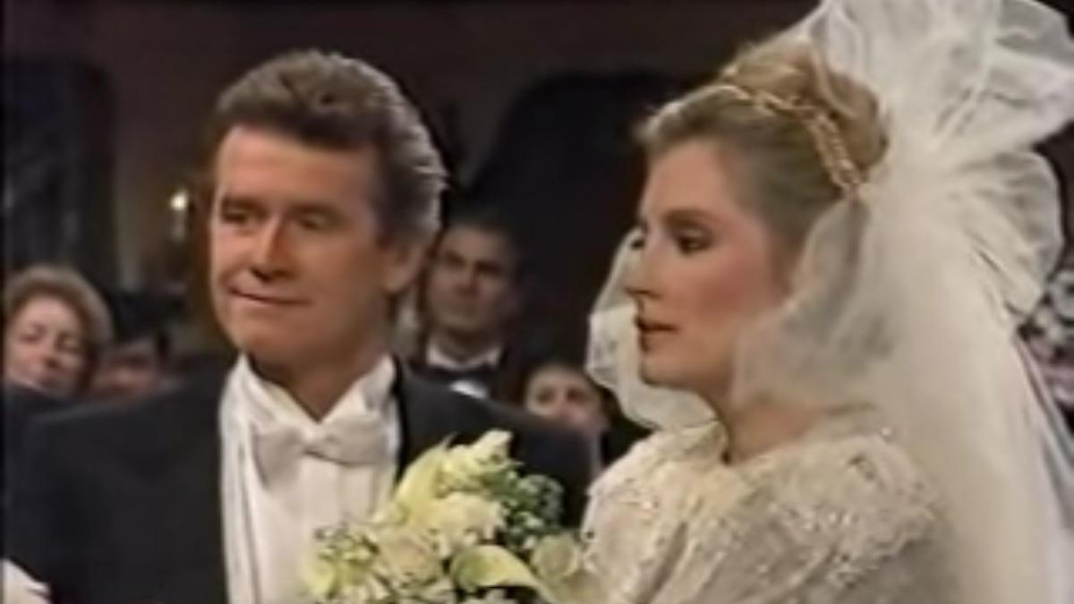 Sean and Tiffany's wedding on General Hospital.
