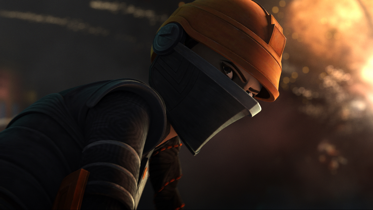 Fennec Shand in Star Wars: The Bad Batch.