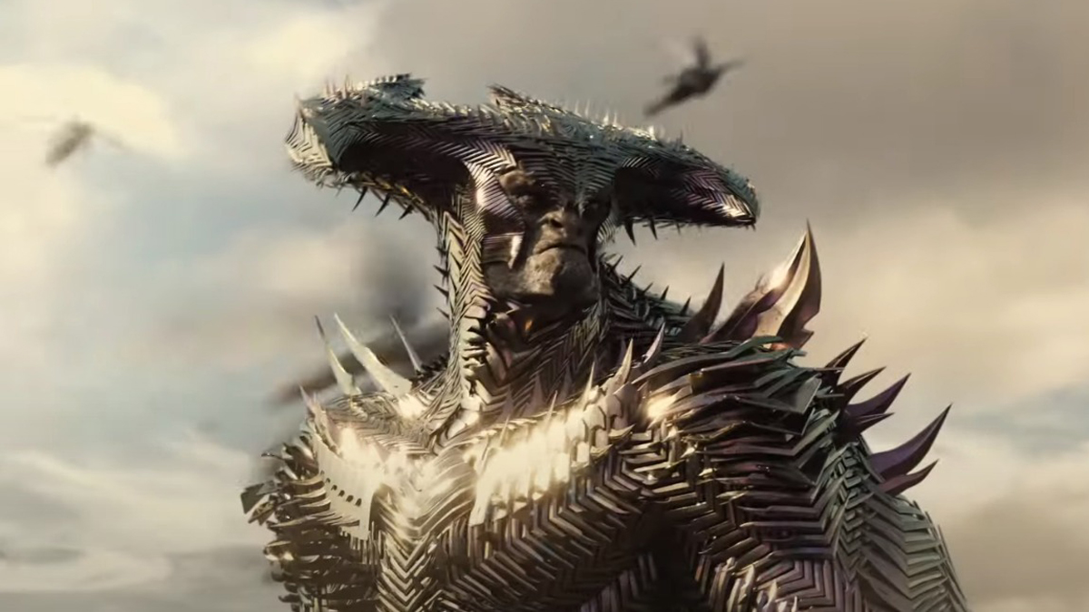 Steppenwolf in battle in Justice League