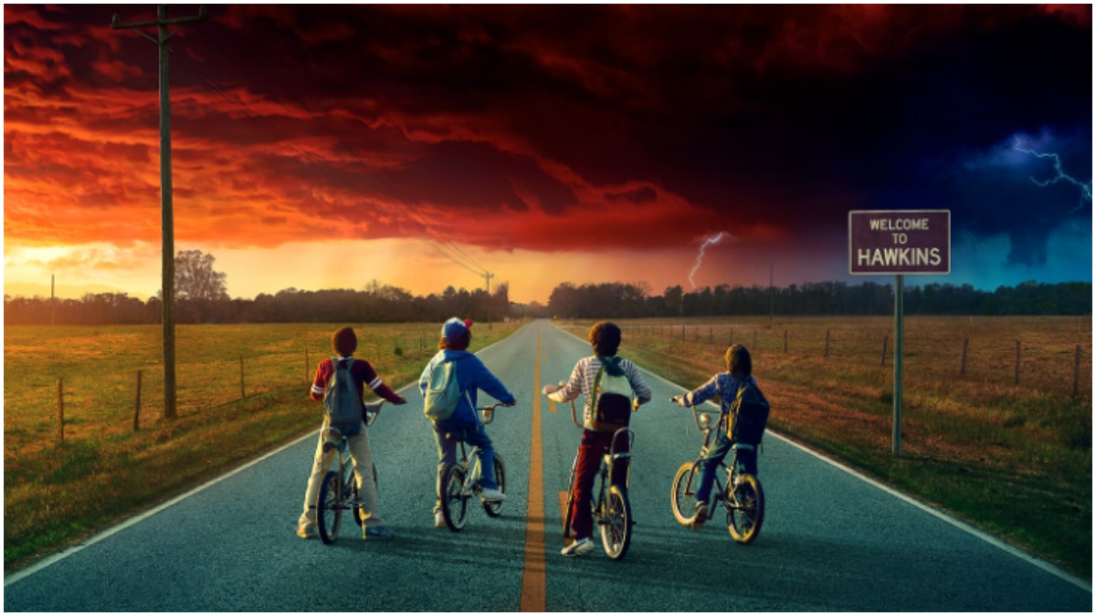 Key artwork for Season 2 of Netflix's Stranger Things