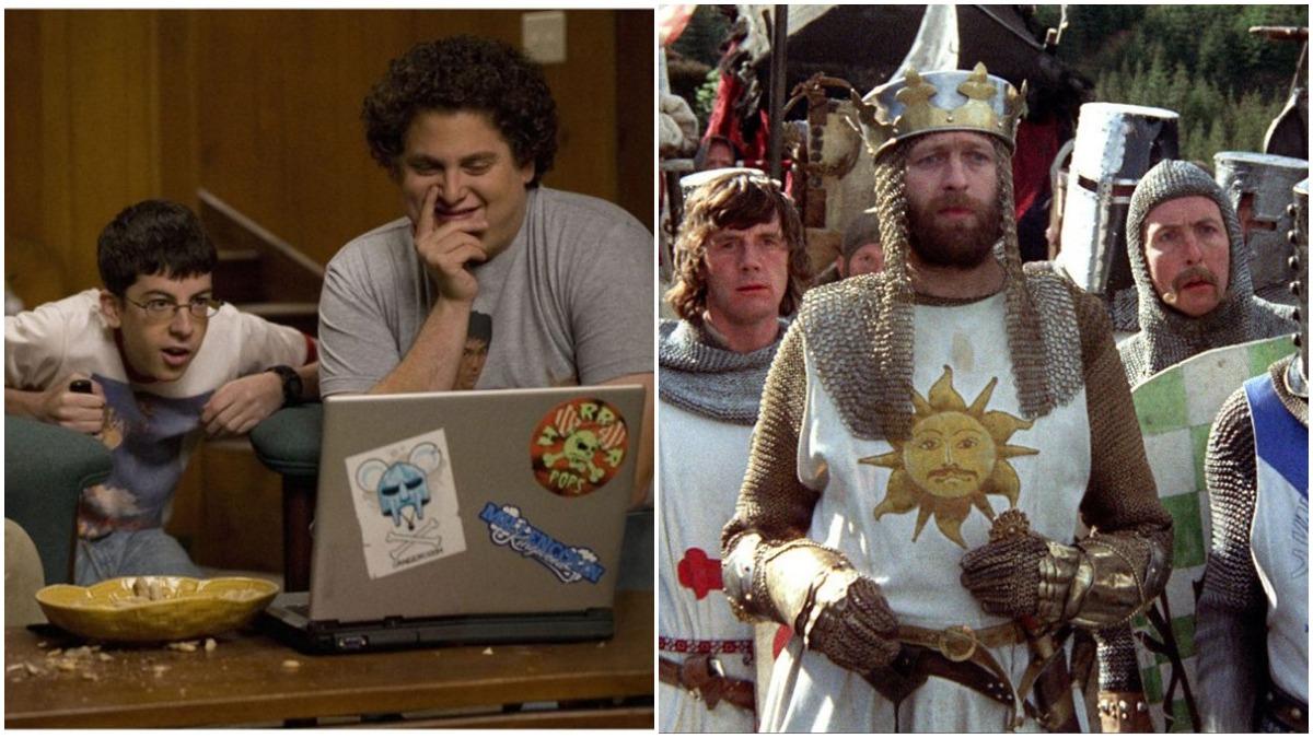 Superbad and Monty Python