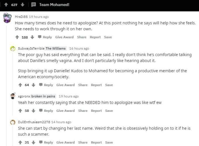 Reddit thread about Mohamed Jbali