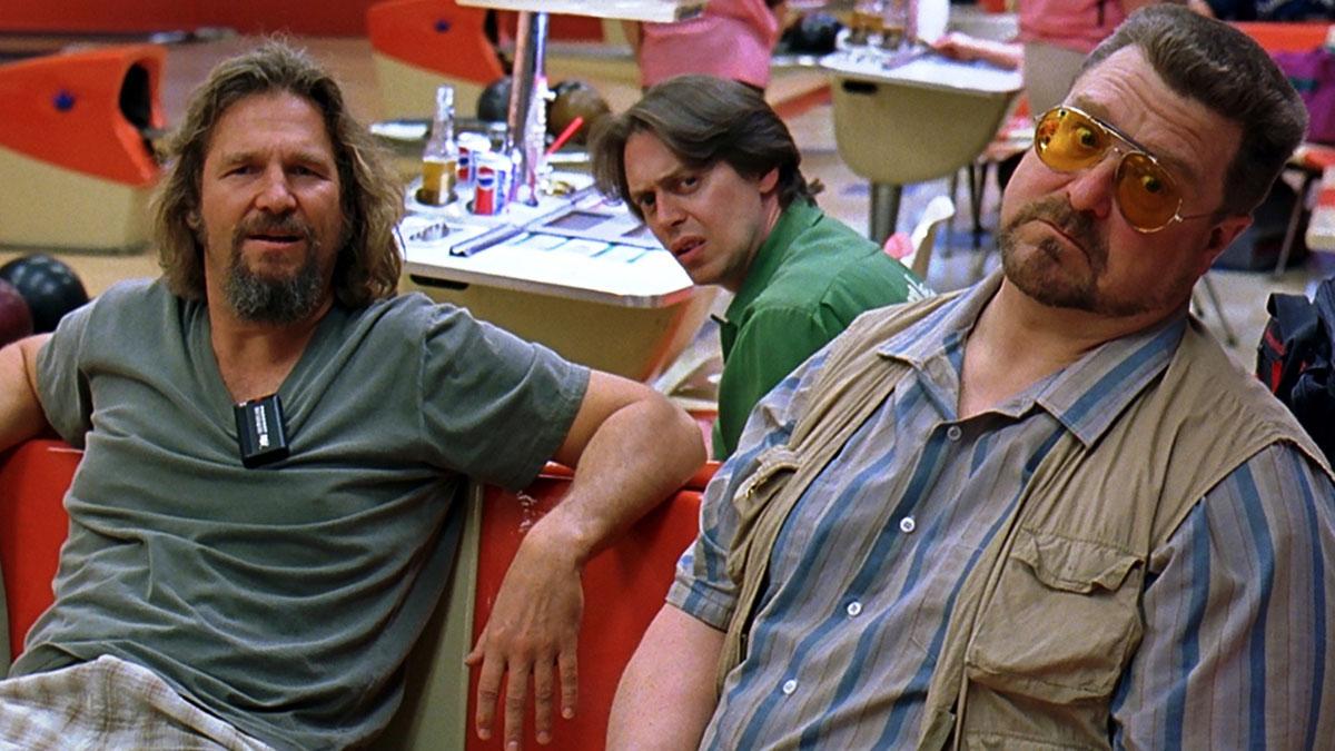Jeff Bridges, John Goodman and Steve Buscemi in The Big Lebowski