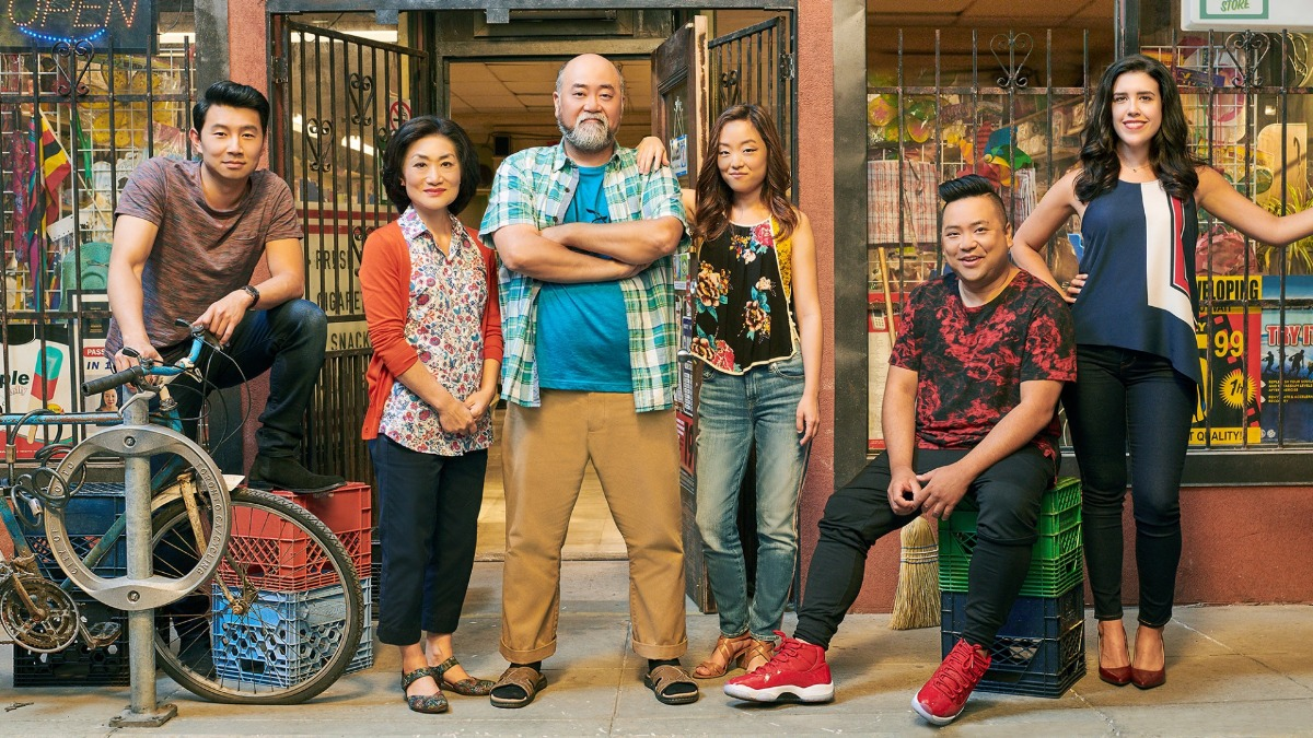 The cast of Kim's Convenience
