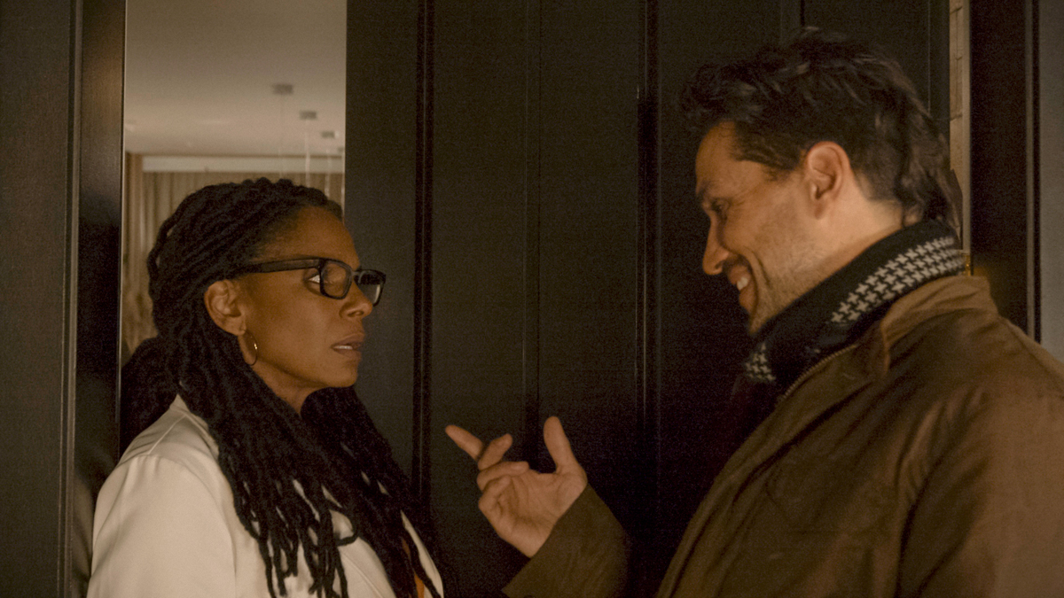 Audra McDonald and Will Swenson in The Bite