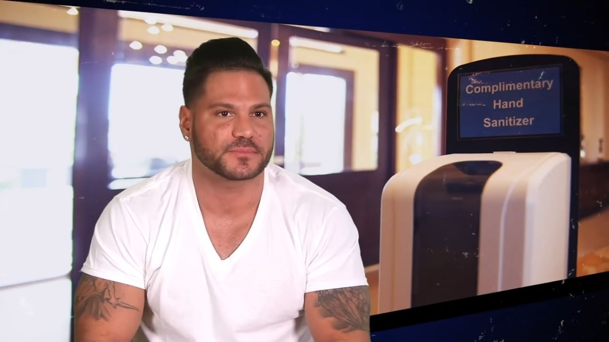 Ronnie Ortiz-Magro on Jersey Shore Family Vacation