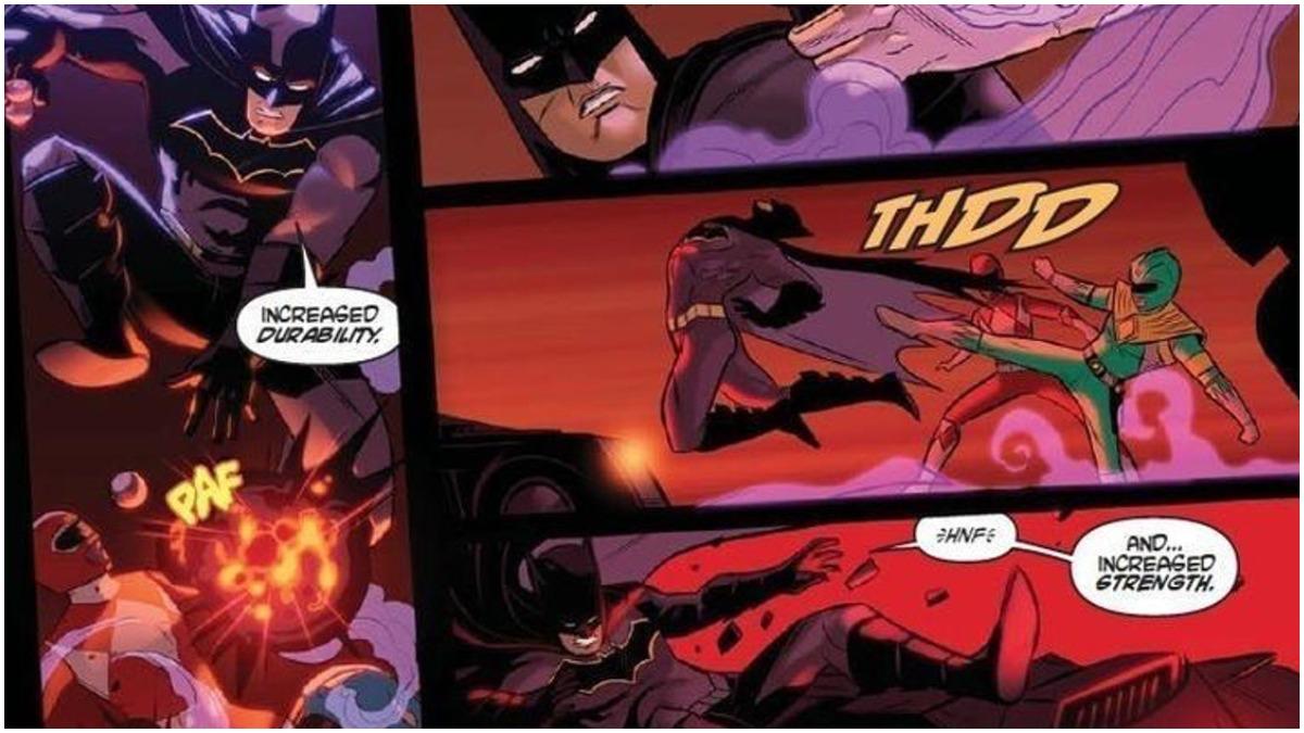 Batman Power Rangers