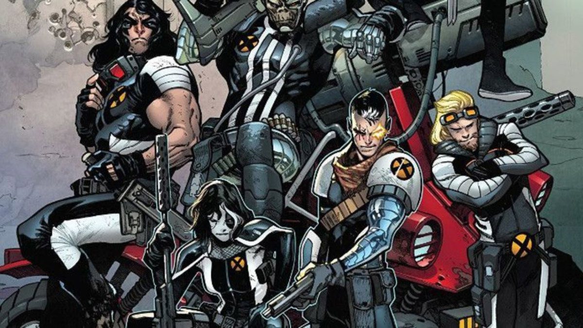 Cable and the members of X-Force.