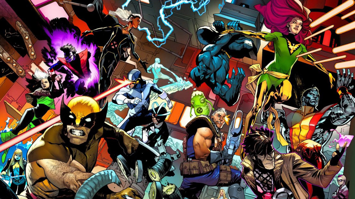 All the members of the X-Men.