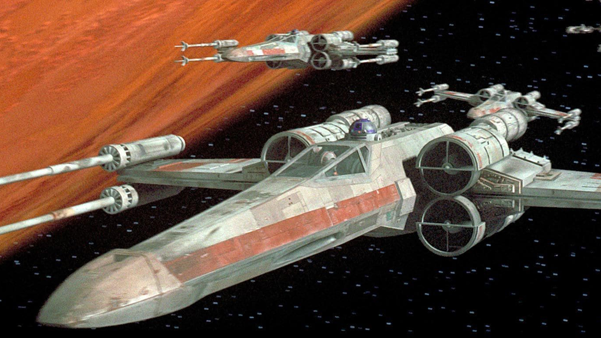 Star Wars sending an X-Wing Fighter to the Smithsonian Museum