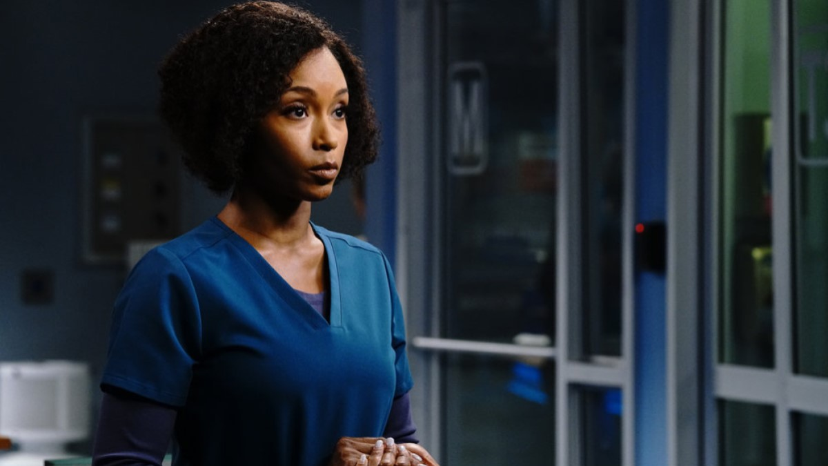 Yaya As April On Chicago Med