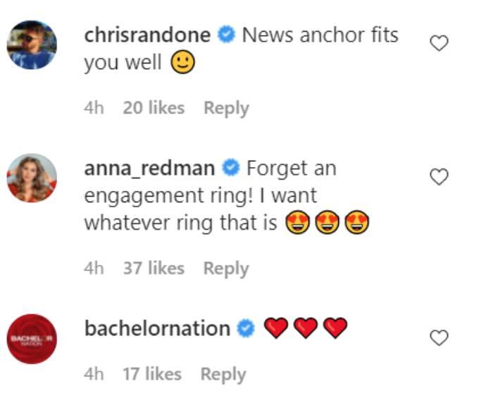 Comments on Katie Thurston's Instagram post