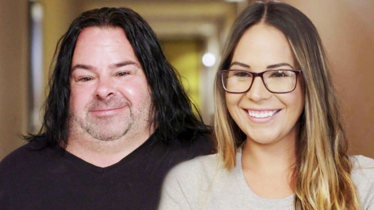 Big Ed and Liz pose together prior to their split. Pic credit: TLC