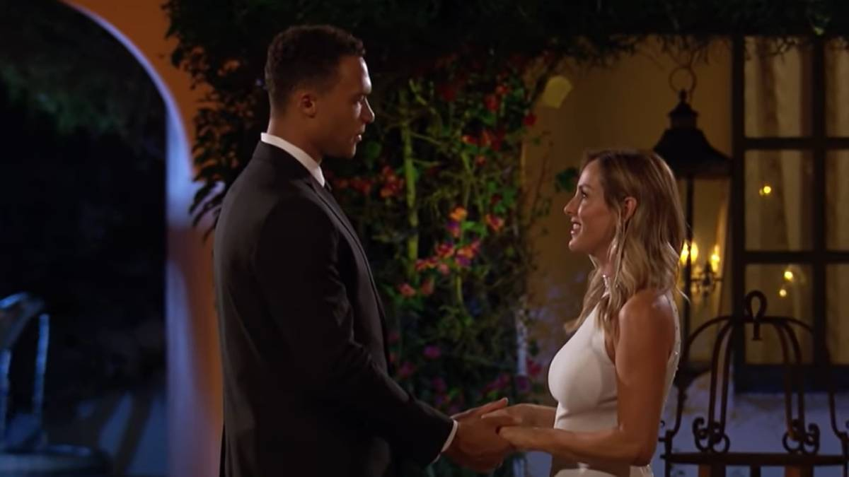 Dale and Clare film for The Bachelorette