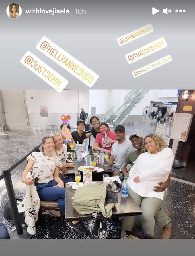 jisela delgado posts cast IG Story photo
