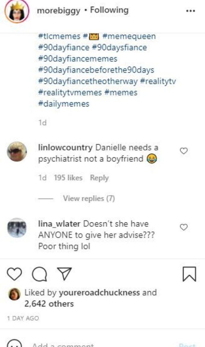 IG post about Danielle Jbali
