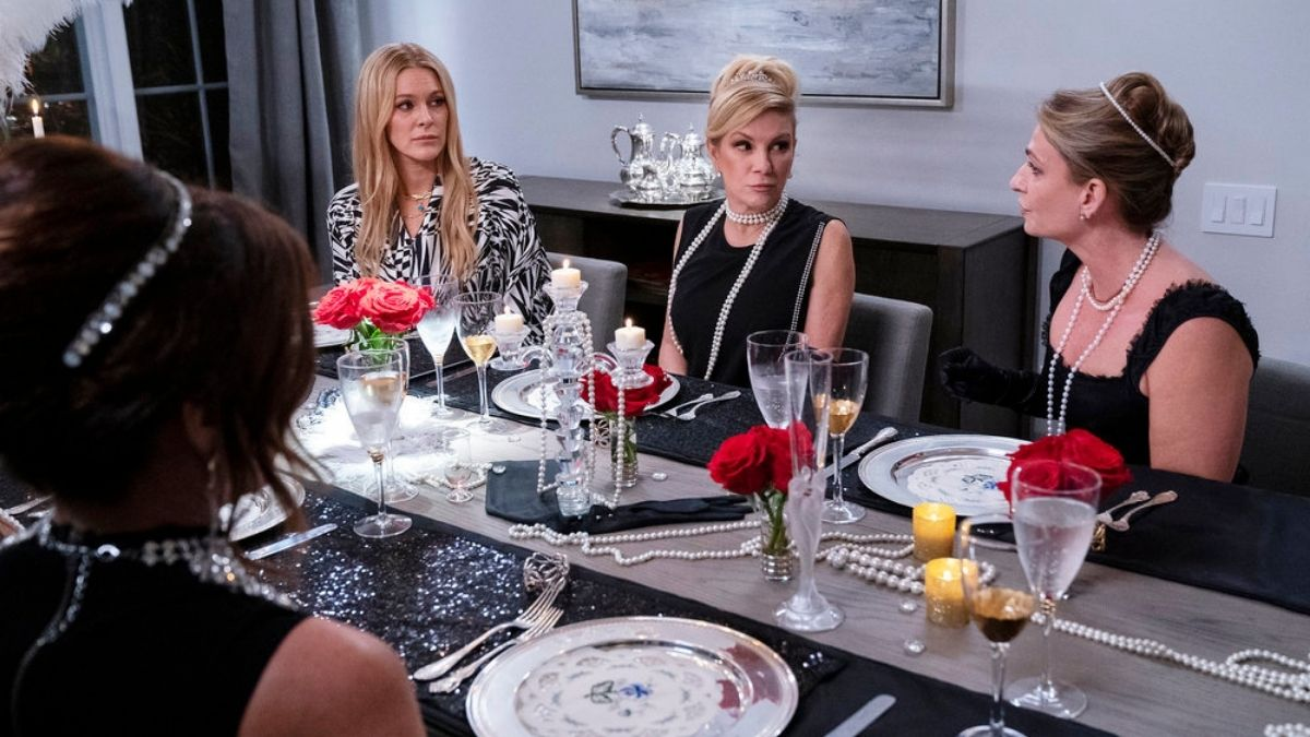 RHONY cast is not happy with Heather Thomson after the find out she's been talking about them