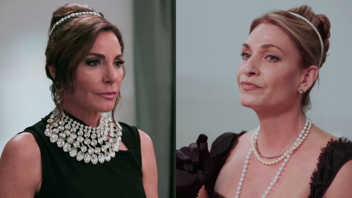 RHONY star Luann de Lesseps is not friends with Heather Thomson