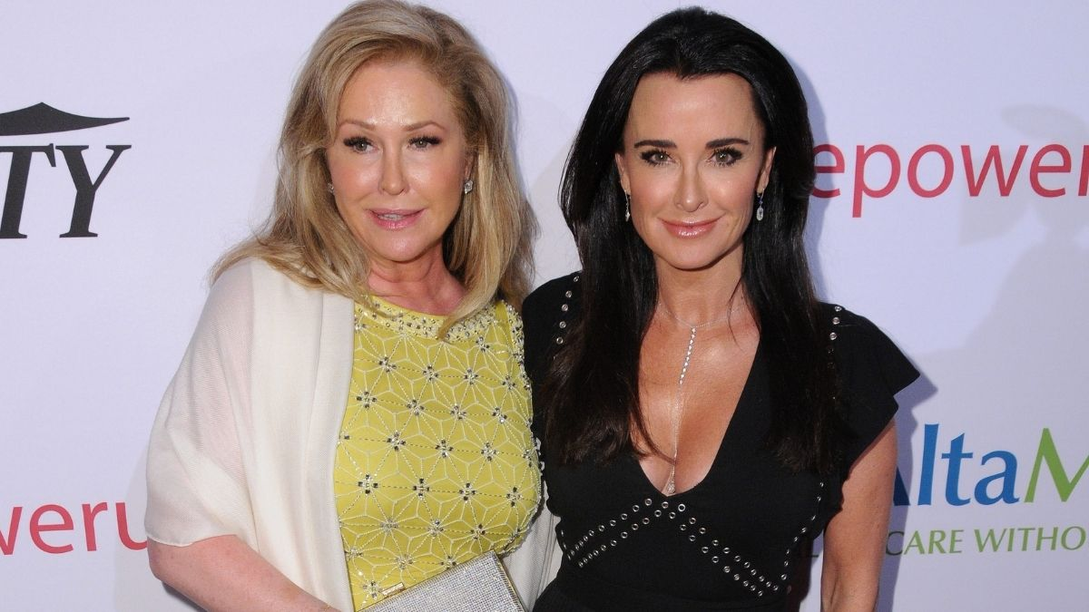RHOBH star Kyle Richards is happy that things are better between her and sister Kathy Hilton