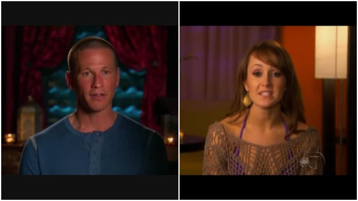 JP Rosenbaum and Ashley Hebert on The Bachelorette