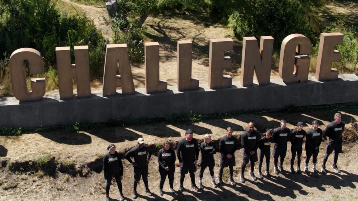 the challenge all stars cast members during episode 8 with the final