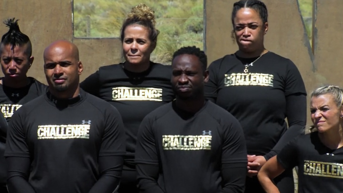 the challenge all stars cast during episode 7 challenge