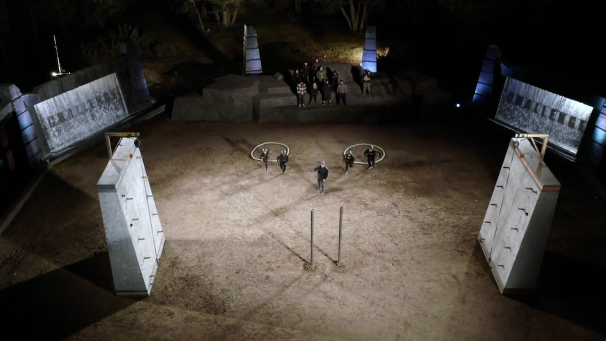 ring cling elimination setup from the challenge all stars episode 7