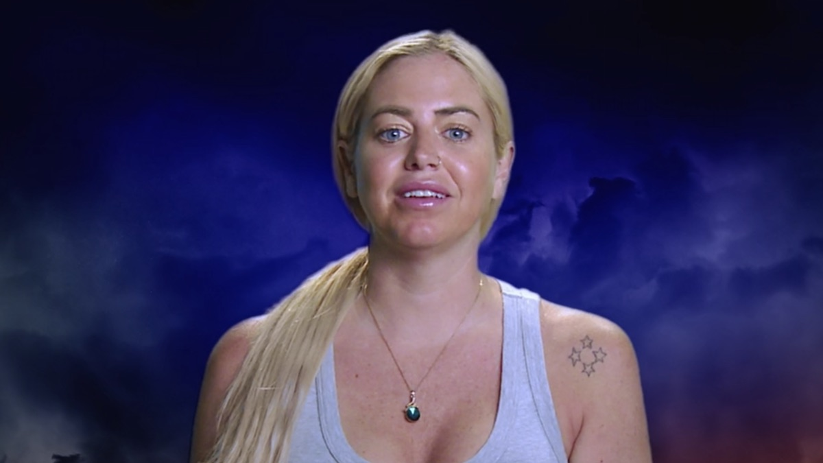 jemmye carroll during the challenge all stars confessional