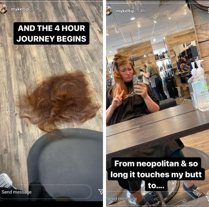 Mykelti Brown of Sister Wives on Instagram