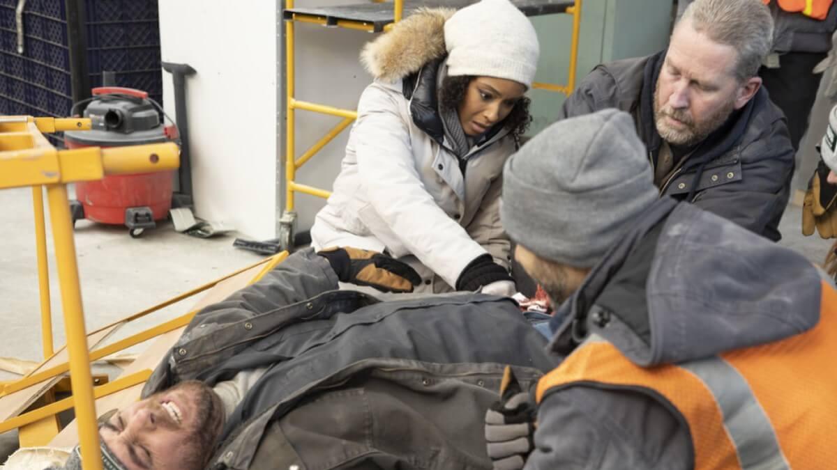 April Sexton Rescue Chicago Med