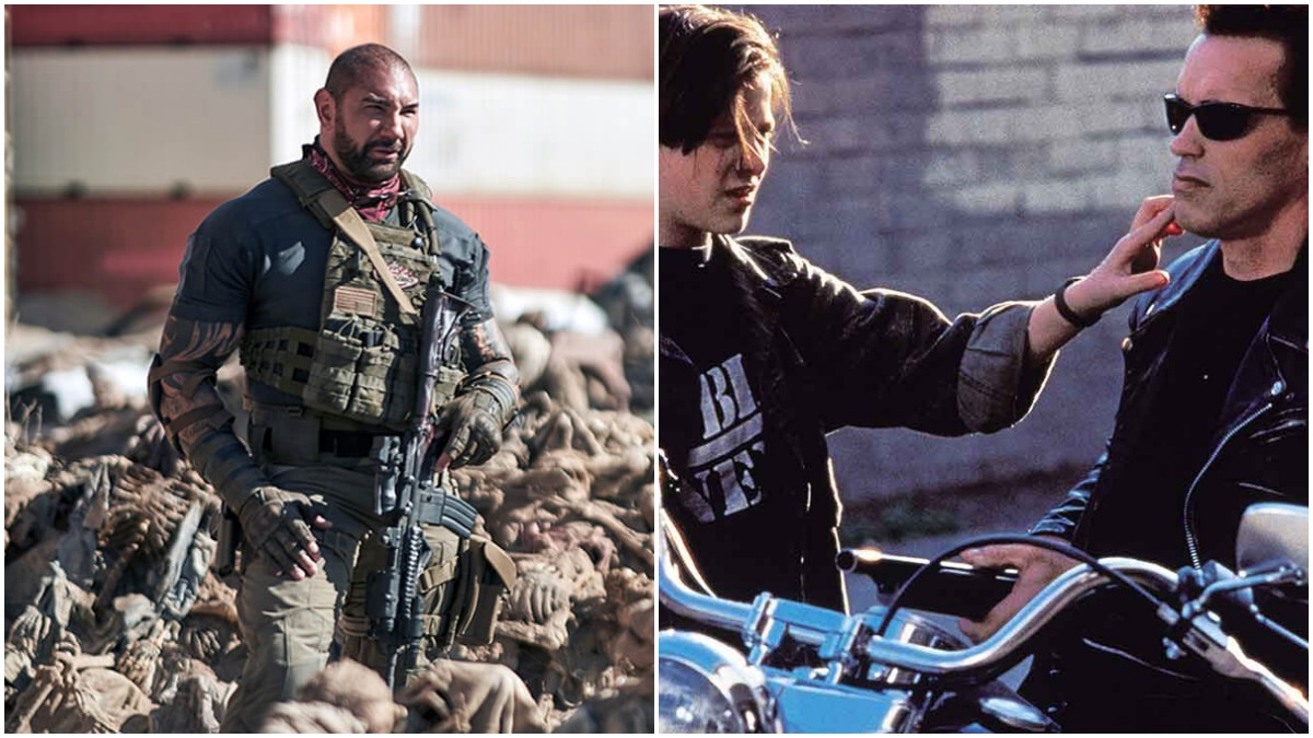 Army of the Dead and Terminator 2 on Netflix
