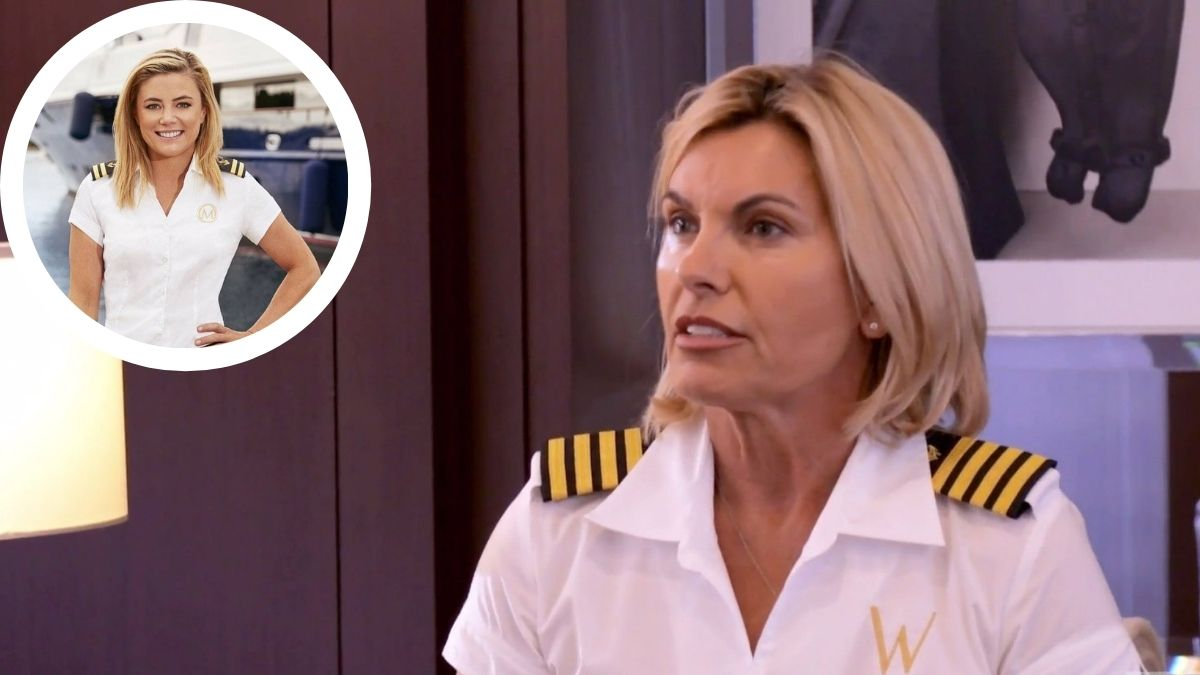 Captain Sandy from Below Deck Med dishes Season 6 and battle with Malia White.