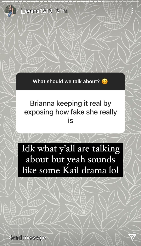 Jenelle Evans formerly of Teen Mom 2 on Instagram