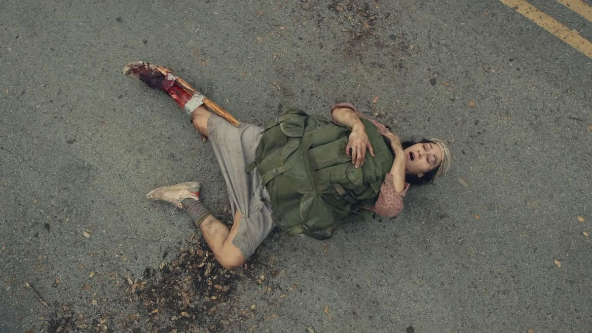 Brigitte Kali Canales stars as Rachel, as seen in Episode 16 of AMC's Fear the Walking Dead Season 6