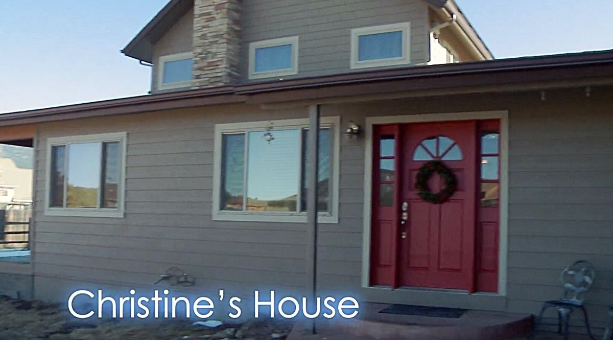 Christine Brown's home in Flagstaff on Sister Wives on TLC