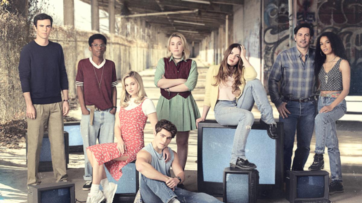 The cast of Cruel Summer