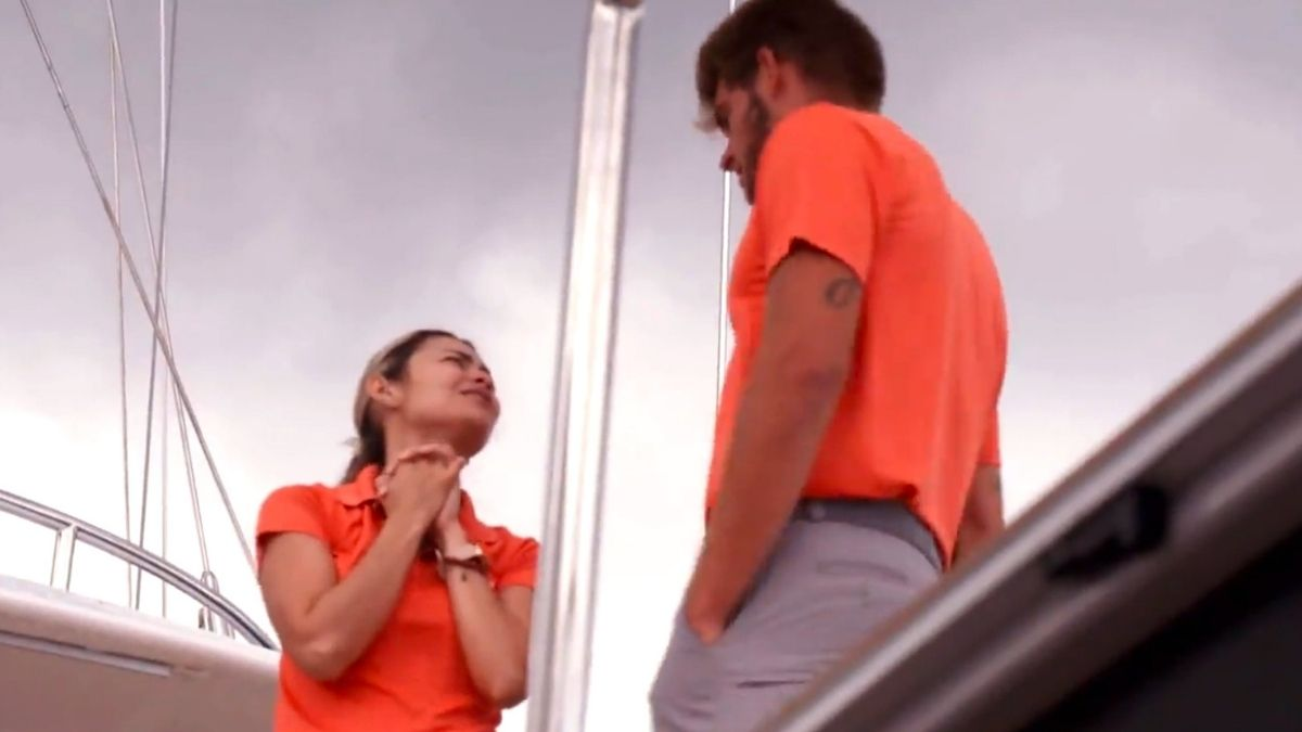 Dani Soares dishes Below Deck Sailing Yacht Season 2 reunion and lack of Jean-Luc Cerza Lanaux .