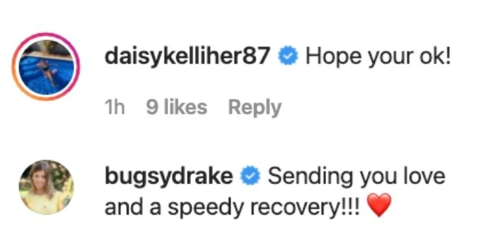 Bugsy and Daisy send well wishes to Malia.