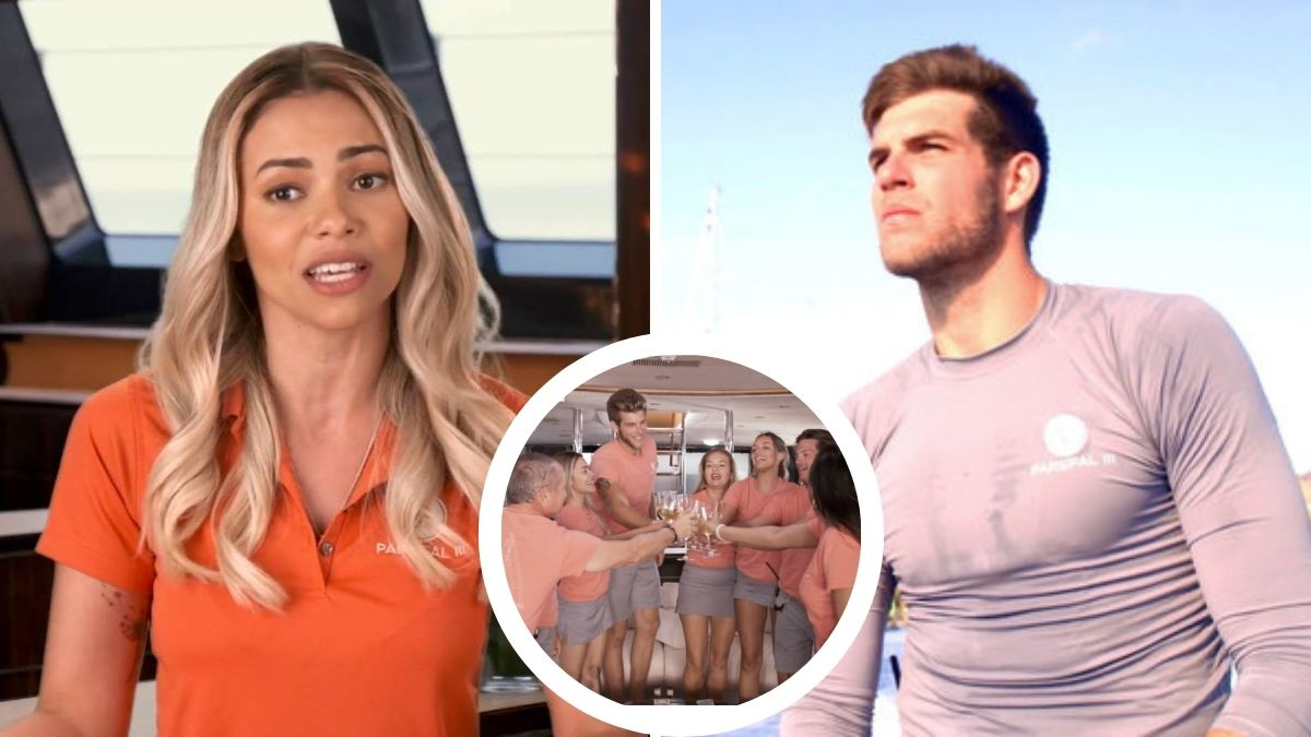 Jean-Luc Cerza Lanaux angers more below Deck Sailing Yacht crew with update on Dani Soares' baby daddy drama.