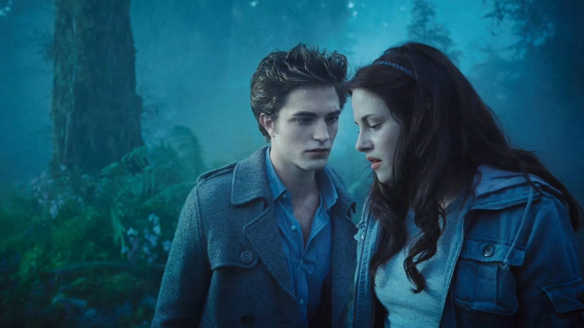Edward and Bella in Twilight