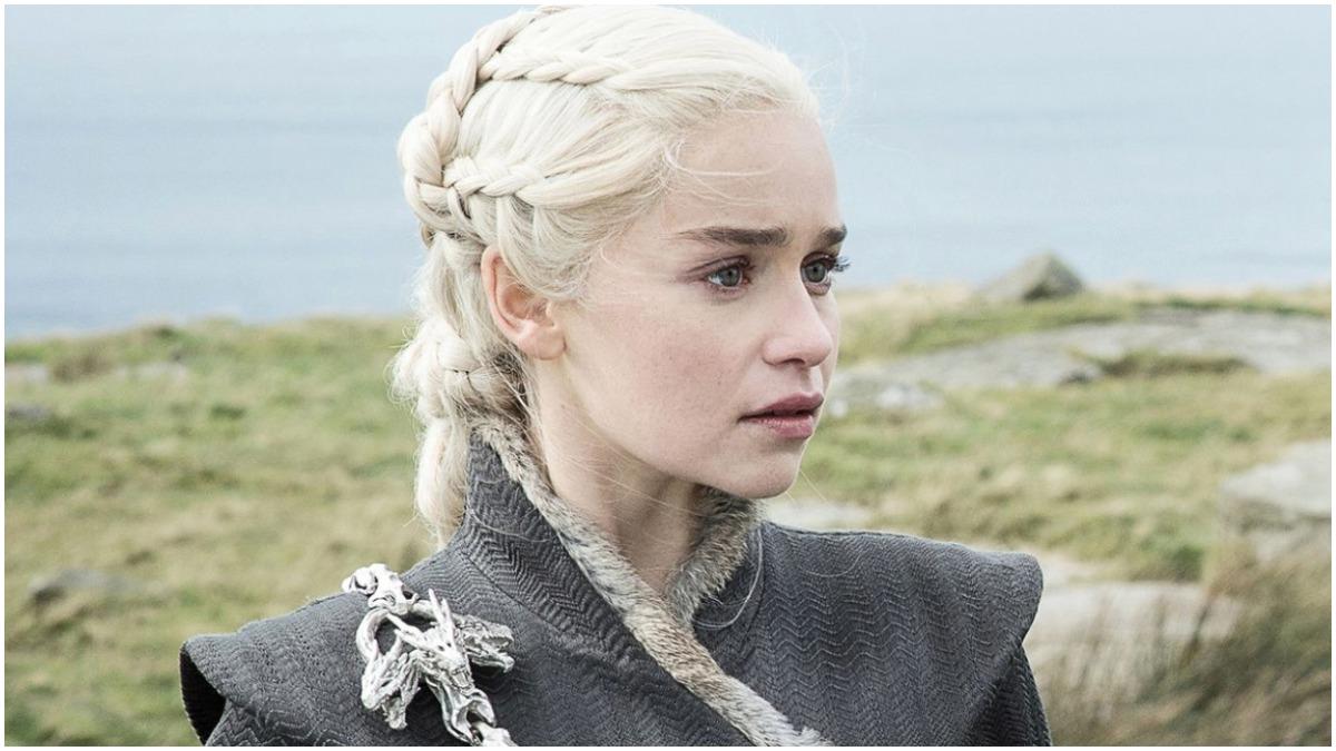 Emilia Clarke stars as Daenerys Targaryen, as seen in HBO's Game of Thrones