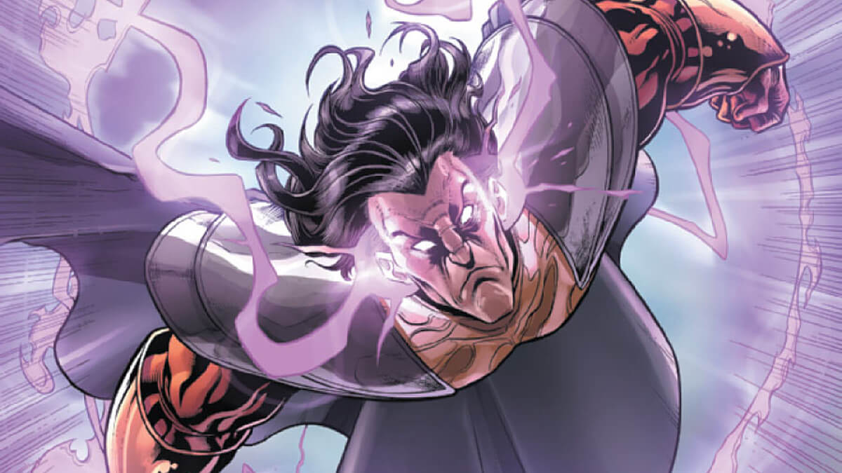 Exodus flying in Marvel Comics