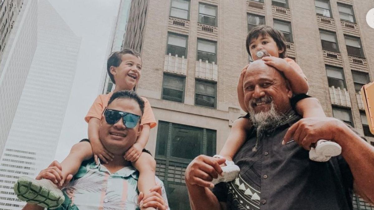 Kalani's touching Father's Day post.