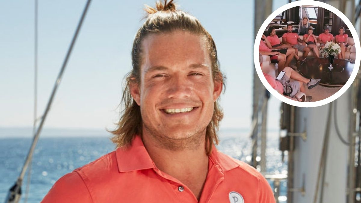 Gary King from Below Deck Sailing Yacht gushes over his Parsifal III crew members.