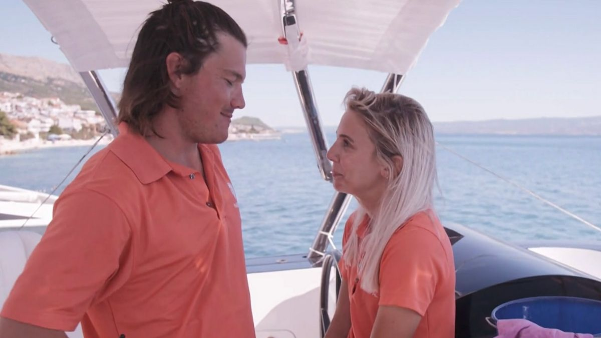 Gary King from Below Deck Sailing Yacht had a girlfriend when he joined Bravo show.