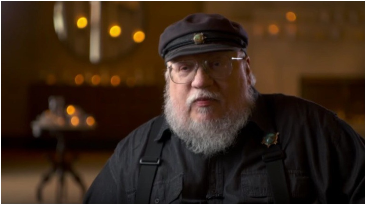 George R. R. Martin is the author of the A Song of Ice and Fire series on which Game of Thrones is based