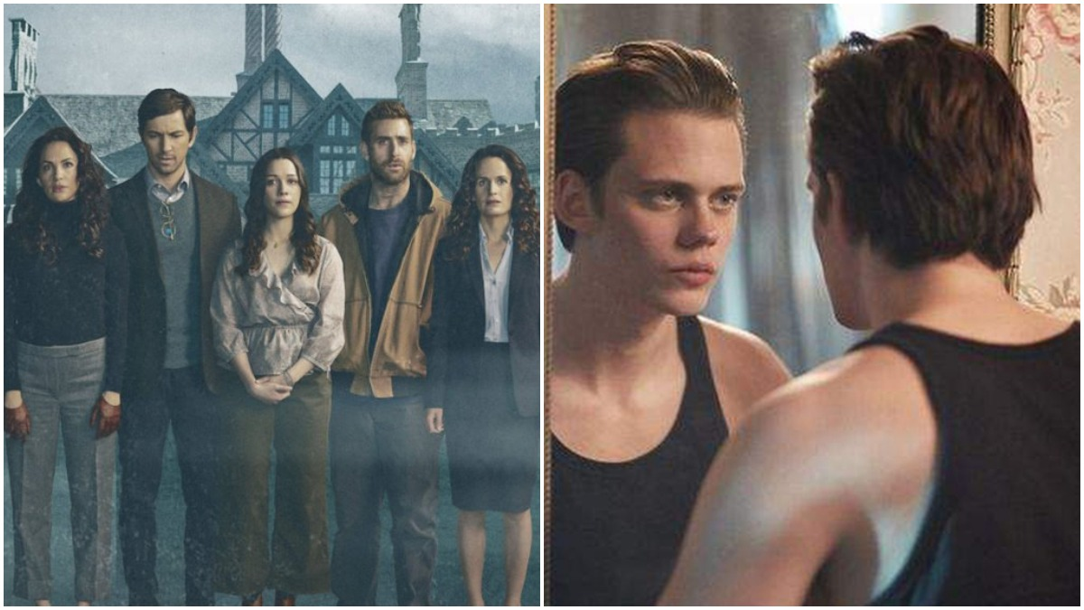 Haunting of Hill House and Hemlock Grove are scary horror series on Netflix.